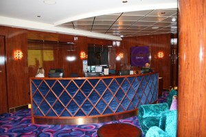Internet cafe / cyber center on a cruise ship