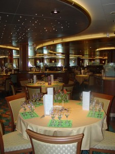 Caribbean Princess - Dining Room
