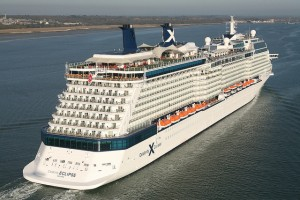 Celebrity Eclipse cruise ship from Celebrity Cruises in Port of Southampton