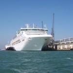 Cruise Liner Sea Princess Docked at Southampton Cruise Terminal Queen Elizabeth II