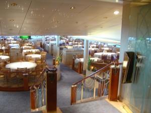 P&0 Cruises - Restaurant