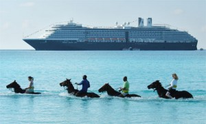 Horseback Riding By Land and Sea - Excursions in Half Moon Cay