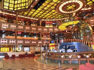 The Lobby Bar On Board Carnival Dream